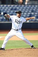 Sergio Espinosa - Peoria Saguaros - 2010 Arizona Fall League.Photo by:  Bill Mitchell/Four Seam Images..