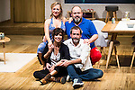 "Pilar Castro, Maribel Verdu, Jorge Calvo and Jorge Bosch during theater play of ""Invencible"" at Teatros del Canal in Madrid. October 27, Spain. 2016. (ALTERPHOTOS/BorjaB.Hojas)"