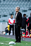 Auckland City Head Coach Ramon Tribulietx reacts during the 2017 Lunar New Year Cup match between Auckland City FC (NZL) and FC Seoul ((KOR) on January 28, 2017 in Hong Kong, Hong Kong. Photo by Marcio Rodrigo Machado/Power Sport Images