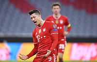 FUSSBALL CHAMPIONS LEAGUE SAISON 2020/2021 Achtelfinale Rueckspiel 17.03.2021 FC Bayern Muenchen - Lazio Rom Jubel FC Bayern Muenchen Torschuetz zum 1-0 Robert Lewandowski *** FOOTBALL CHAMPIONS LEAGUE SEASON 2020 2021 Round of 16 Second leg 17 03 2021 FC Bayern Muenchen Lazio Roma Cheers FC Bayern Muenchen Goal scorer for 1 0 Robert Lewandowski <br /> Monaco 17/03/2021 <br /> Football Uefa Champions League 2020/2021 Round of 16 Leg 2<br /> Bayern Monaco - SS Lazio<br /> Photo Imago/Insidefoto <br /> ITALY ONLY