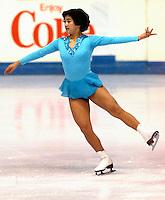 Emi Watanabe Japan Skate Canada 1977. Photo copyright Scott Grant