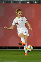 Swiss Luana Buhler (15)  pictured during a female soccer game between the national teams of Belgium , called the Red Flames and Switzerland on the 8 th and last matchday in group H for the qualification for the Womens EURO 2022 in England , on Tuesday 1 th of December 2020  in Leuven , Belgium . PHOTO SPORTPIX.BE   SPP   DIRK VUYLSTEKE