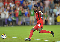 Orlando, FL - Friday Oct. 06, 2017: Jozy Altidore during a 2018 FIFA World Cup Qualifier between the men's national teams of the United States (USA) and Panama (PAN) at Orlando City Stadium.