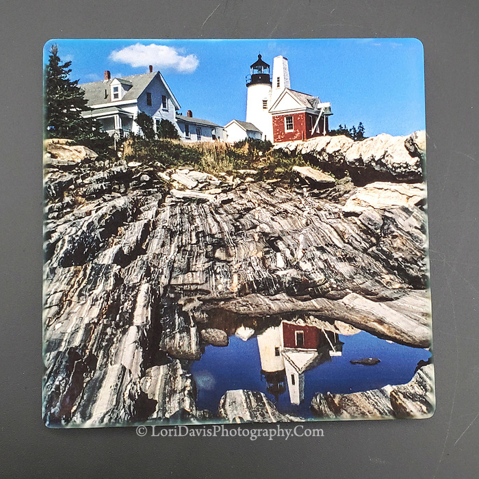 Sandstone Coaster Reflections at Pemaquid Point