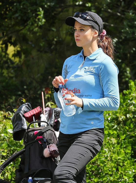 Montana Strauss. Anita Boon Pro-am, Remuera Golf Course, Auckland, New Zealand, Sunday 14 October2018. Photo: Simon Watts/www.bwmedia.co.nz