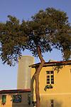 Israel, Tel Aviv-Yafo, renoveted templar building in Sarona