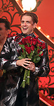 """Aaron Tveit during the Broadway Opening Night performance Curtain Call bows for """"Moulin Rouge! The Musical"""" at the Al Hirschfeld Theatre on July 25, 2019 in New York City."""