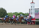 9 APR - Gabriel Saez and Winslow Homer (2) take the early lead in the 65th running of the Oaklawn Park Handicap.