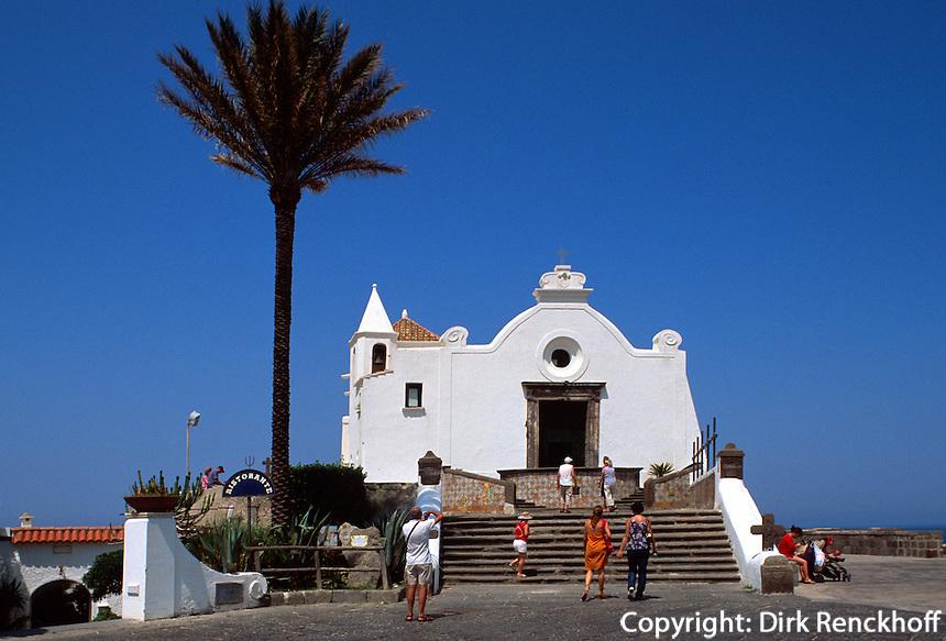 Kirche Santa Maria del Soccorso in Forio, Ischia, Italien