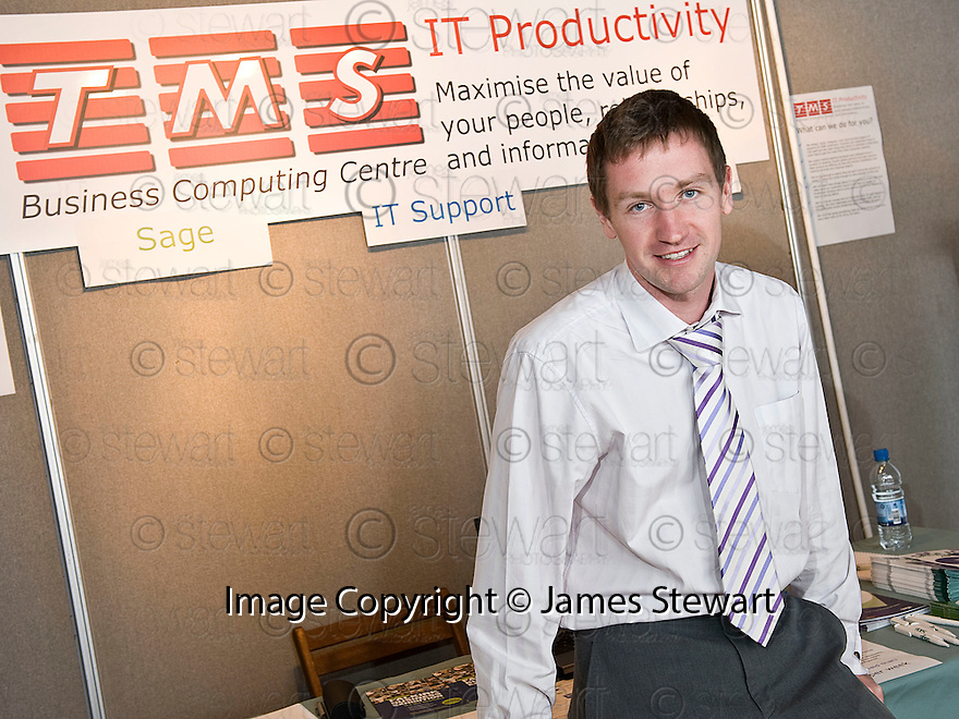 Falkirk Business Exhibition 2011<br /> Thom Micro Systems Ltd