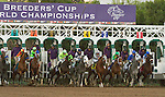 ARCADIA, CA - NOVEMBER 5: The horses leave the starting gate for the Breeders' Cup Classic during day two of the 2016 Breeders' Cup World Championships at Santa Anita Park on November 5, 2016 in Arcadia, California. (Photo by Casey Phillips/Eclipse Sportswire/Breeders Cup)