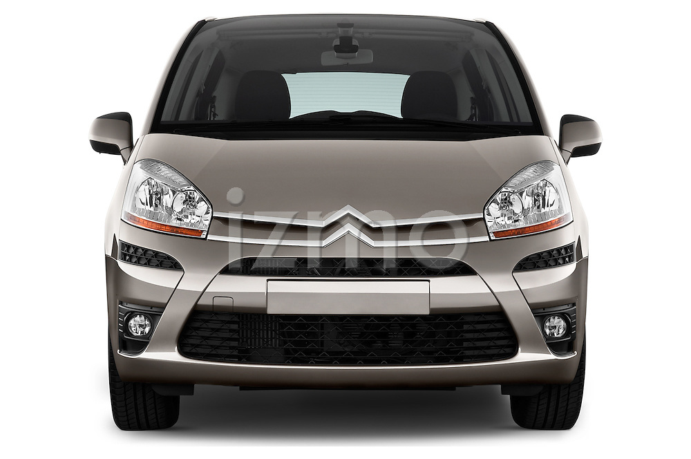 Straight front view of a 2006 - 2012 Citroen C4 Picasso Business Mini MPV.