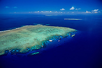 aerial, Norman Reef, Great Barrier Reef, Australia, Pacific Ocean