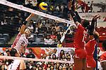 Sarina Koga (JPN), AUGUST 26, 2015 - Volleyball : FIVB Women's World Cup 2015 1st Round between Japan 3-0 Kenya  in Tokyo, Japan. (Photo by Sho Tamura/AFLO SPORT)