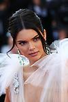 Cannes Film Festival 2018 - 71st edition - Day 5 - May 12 in Cannes, on May 12, 2018; La montée des femmes - Screening 'Les filles du soleil'. <br /> Kendall Jenner