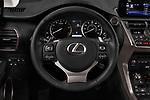 Car pictures of steering wheel view of a 2018 Lexus NX 300 FWD 5 Door SUV