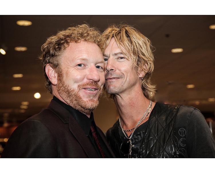 Lance Mercer and Duff McKagan.