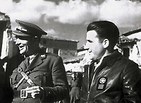 Spanish Civil War (1936-1939). Republican side. Commander Enrique Líster.