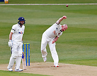 Kent's Darren Stevens bowls during Kent CCC vs Yorkshire CCC, LV Insurance County Championship Group 3 Cricket at The Spitfire Ground on 15th April 2021