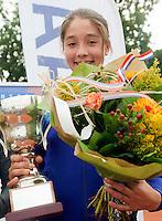 8-8-09, Asten,NJK, Anna Alzate winnaar meisjes 14 jaar