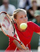 5-6-06,France, Paris, Tennis , Roland Garros, Marit Boonstra