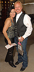 Marti Powers and Ronnie Baughman at the Cattle Baron's Ball at the George Ranch Saturday April 28,2007.(Dave Rossman/For the Chronicle)