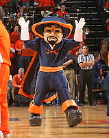 Cavalier_Virginia held North Carolina State scoreless for more than 7 minutes on the way to a 59-47 victory Wednesday night at the John Paul Jones Arena in Charlottesville, VA. Virginia (14-6, 5-2 Atlantic Coast Conference) regained a share of first place in the conference. (Photo/Andrew Shurtleff)....