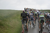 riders having to unclip at the back of the peloton because of the many riders slowing down too much up the steep part of the Gulperberg (450m/9.3%)<br /> <br /> stage 3: Buchten - Buchten (NLD/210km)<br /> 30th Ster ZLM Toer 2016