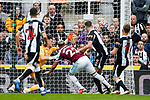 Saïd Benrahma puts West Ham level at 2-2. Newcastle v West Ham, August 15th 2021. The first game of the season, and the first time fans were allowed into St James Park since the Coronavirus pandemic. 50,673 people watched West Ham come from behind twice to secure a 2-4 win.