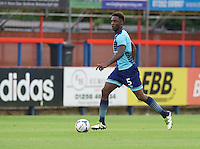 Anthony Stewart of Wycombe Wanderers during the Friendly match between Aldershot Town and Wycombe Wanderers at the EBB Stadium, Aldershot, England on 26 July 2016. Photo by Alan  Stanford.