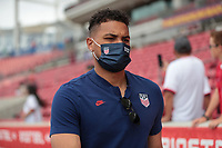 SANDY, UT - JUNE 10: Zack Steffen #1 of the United States before a game between Costa Rica and USMNT at Rio Tinto Stadium on June 10, 2021 in Sandy, Utah.
