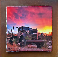 Dreamy Dodge - Mixed Media - Arizona<br />