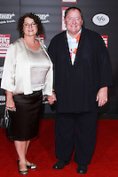 HOLLYWOOD, LOS ANGELES, CA, USA - NOVEMBER 04: Nancy Lasseter, John Lasseter arrive at the Los Angeles Premiere Of Disney's 'Big Hero 6' held at the El Capitan Theatre on November 4, 2014 in Hollywood, Los Angeles, California, United States. (Photo by David Acosta/Celebrity Monitor)