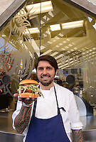 Ludo Lefebvre @ the opening of his new restaurant 'LudoBird' held @ the Universal CityWalk.<br /> March 26, 2016