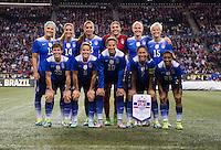 USWNT vs Brazil, October 21, 2015