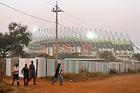 Il villaggio di Sun City a 200 metri dal Royal Bafokeng Stadium di Rustenburg.USA Ghana 1-2 - USA vs Ghana 1-2.Ottavi di finale - Round of 16 matches.Campionati del Mondo di Calcio Sudafrica 2010 - World Cup South Africa 2010.Royal Bafokeng Stadium, Rustenburg, 26 / 06 / 2010.© Giorgio Perottino / Insidefoto .