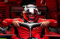 28th August 2021; Spa Francorchamps, Stavelot, Belgium: FIA F1 Grand Prix of Belgium, qualifying sessions;  F1 Grand Prix of Belgium 55 CarlSainz ESP, Scuderia Ferrari Mission Winnow