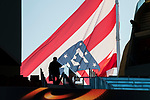 The team flag of Atletico de Madrid is seen prior to the UEFA Europa League 2017-18 Round of 32 (2nd leg) match between Atletico de Madrid and FC Copenhague at Wanda Metropolitano  on February 22 2018 in Madrid, Spain. Photo by Diego Souto / Power Sport Images