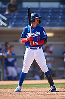 Rancho Cucamonga Quakes Miguel Vargas (29) at bat during a California League game against the Inland Empire 66ers at LoanMart Field on September 2, 2019 in Rancho Cucamonga, California. Rancho Cucamonga defeated Inland Empire 4-3. (Zachary Lucy/Four Seam Images)