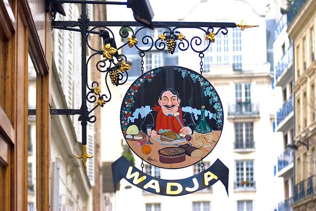 Exterior, Wadja Restaurant, Paris, France, Europe