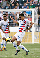 Chester, PA - May 28, 2018: The USMNT (USA) defeated Bolivia (BOL) 3-0 in an international friendly match at Talen Energy Stadium.