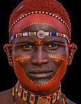 Samburu Tribesman, Kenya<br /> <br /> Available for editorial licensing only.