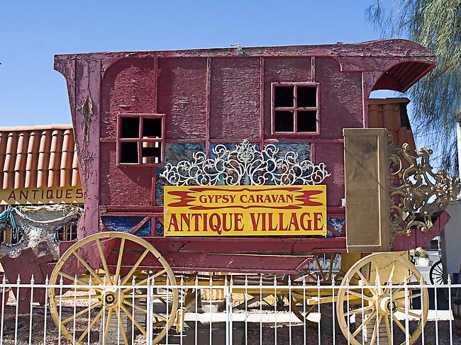 Carriage, Gypsy Caravan, Las Vegas, Nevada