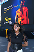 """PASADENA, CA - JUNE 10: Actress Shaian Jordan attends National Geographic's """"Genius: Aretha"""" FYC Drive-In Screening And Panel at the Rose Bowl on June 10, 2021 in Pasadena, California. (Photo by Vince Bucci/National Geographic/PictureGroup)"""