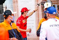 23rd May 2021; Principality of Monaco; F1 Grand Prix of Monaco,   Race Day;   16 Charles Leclerc MON, Scuderia Ferrari Mission Winnow, F1 Grand Prix of Monaco at Circuit de Monaco