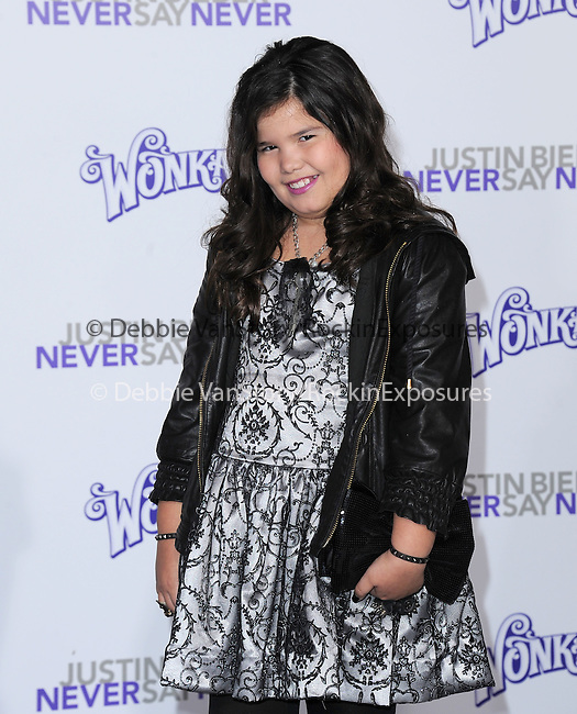 """Maddie Lovato attends the Paramount Pictures' L.A. Premiere of """"JUSTIN BIEBER: NEVER SAY NEVER."""" held at The Nokia Theater Live in Los Angeles, California on February 08,2011                                                                               © 2010 DVS / Hollywood Press Agency"""
