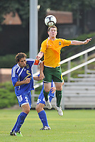 Mark Amberlsey (stl), Andreas Arango #3...AC St Louis and NSC Minnesota Stars played to a 2-2 tie at Anheuser-Busch Soccer Park, Fenton, Missouri.