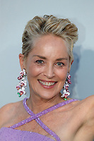 CAP D'ANTIBES, FRANCE - JULY 16: Sharon Stone  at the amfAR Cannes Gala 2021 during the 74th Annual Cannes Film Festival at Villa Eilenroc on July 16, 2021 in Cap d'Antibes, France. <br /> CAP/GOL<br /> ©GOL/Capital Pictures