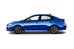 Car Driver side profile view of a 2015 Subaru Wrx - 4 Door Sedan 2WD Side View