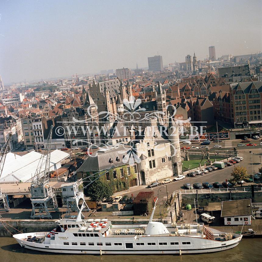 September 1980. Het Steen in Antwerpen.
